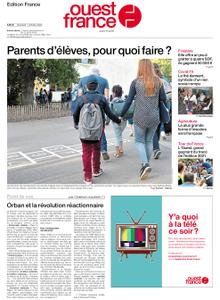 Ouest-France Édition France – 07 octobre 2020