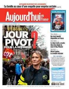 Aujourd'hui en France - 24 Janvier 2020