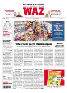 WAZ Westdeutsche Allgemeine Zeitung Oberhausen-Sterkrade - 05. März 2019