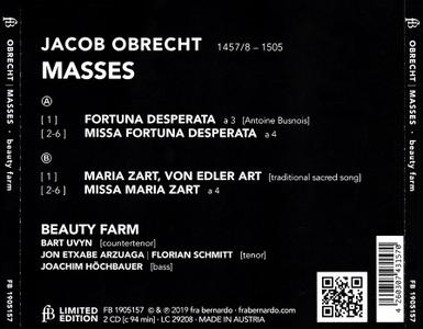 Beauty Farm - Jacob Obrecht: Masses (2019)