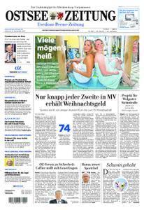 Ostsee Zeitung Wolgast - 08. November 2017