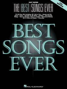 The Best Songs Ever: Easy Guitar, 5th Edition