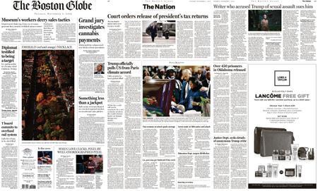 The Boston Globe – November 05, 2019
