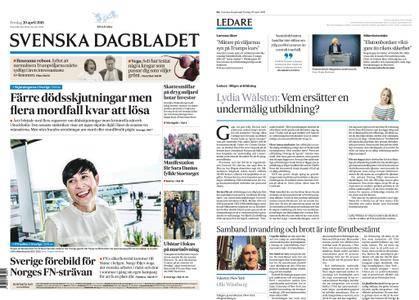 Svenska Dagbladet – 20 april 2018