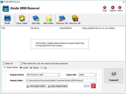 Kindle DRM Removal 4.20.702.385 Portable