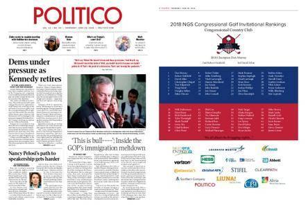 Politico – June 28, 2018