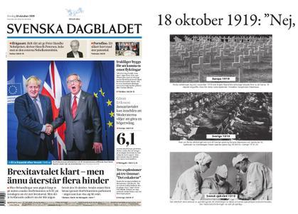 Svenska Dagbladet – 18 oktober 2019