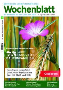 Bayerisches Landwirtschaftliches Wochenblatt Ostbayern - 10. September 2020