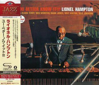 Lionel Hampton - You Better Know It !!! (1964) {2012, Japanese Reissue, 24-bit Remastered}