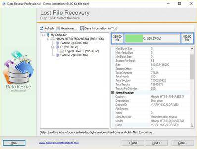Data Rescue Professional 3.8.0.300