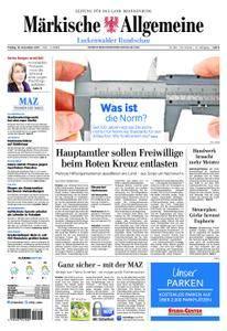 Märkische Allgemeine Luckenwalder Rundschau - 10. November 2017