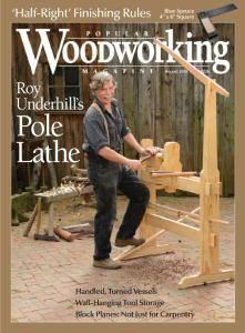 Popular Woodworking - August-September 2016