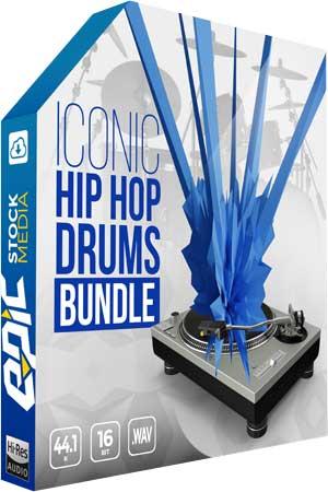 Epic Stock Media Iconic Hip Hop Drums Bundle WAV / AvaxHome
