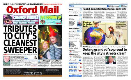 Oxford Mail – February 16, 2018