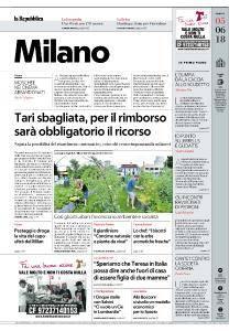 la Repubblica Milano - 5 Giugno 2018
