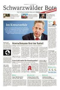 Schwarzwälder Bote Hechingen - 13. September 2018