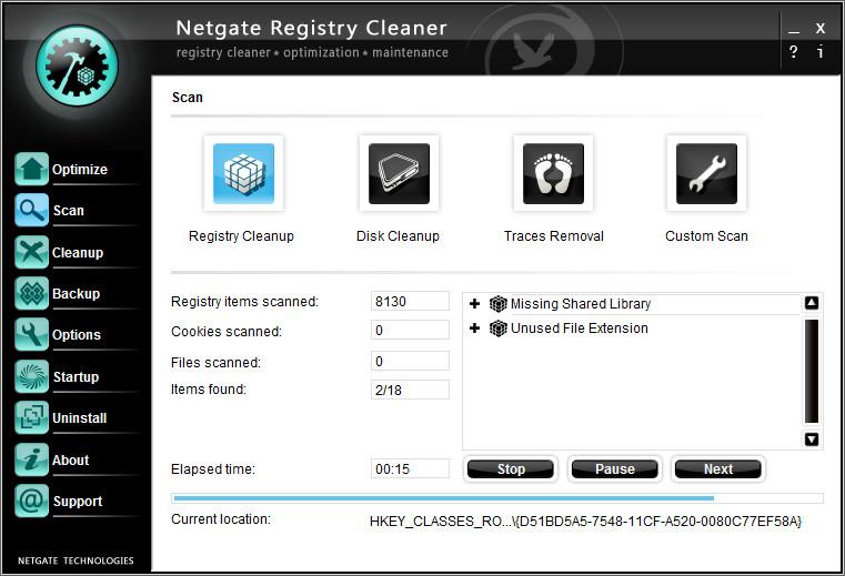 portable registry cleaner