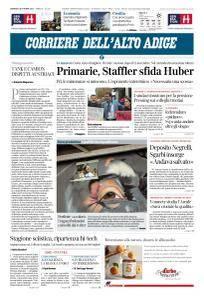 Corriere dell'Alto Adige - 8 Ottobre 2017