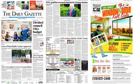 The Daily Gazette – October 25, 2017