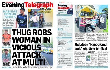 Evening Telegraph First Edition – August 10, 2018