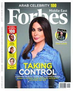 Forbes Middle East English Edition - August 2017