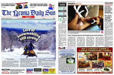The Laconia Daily Sun – January 26, 2019