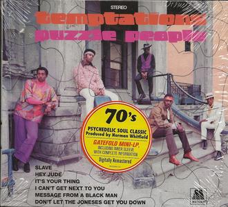 The Temptations - Puzzle People (1969) [2018, Digitally Remastered]