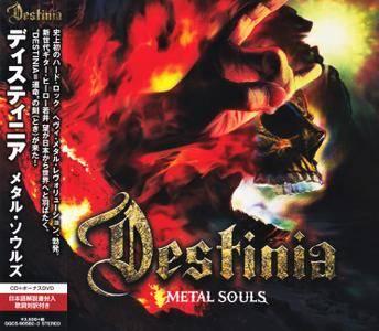 Destinia - Metal Souls (2018) [Japanese Ltd. Ed.] CD + DVD