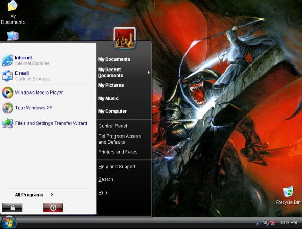 Windows XP Demonoid Edition
