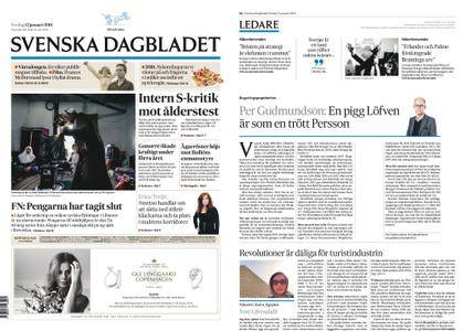 Svenska Dagbladet – 12 januari 2018