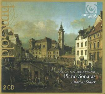 Andreas Staier - Mozart: Piano Sonatas (2012)