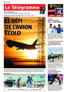 Le Télégramme Brest – 21 octobre 2019