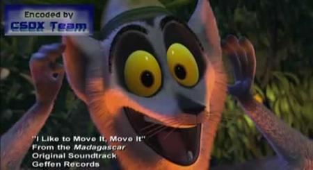 I Like To Move It, Move It - from Madagascar