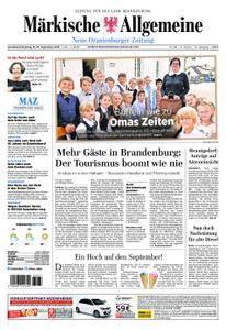 Neue Oranienburger Zeitung - 15. September 2018
