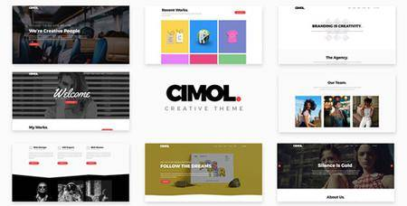 ThemeForest - Cimol v1.2 - Responsive One Page & Multi Page Portfolio Theme - 21105305