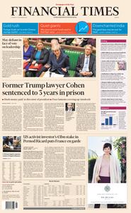 Financial Times Europe – 13 December 2018
