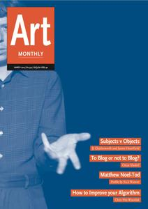 Art Monthly - March 2014   No 374