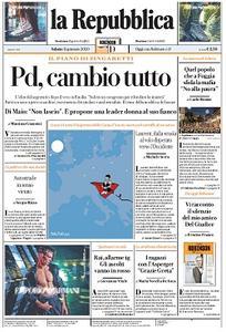 la Repubblica - 11 Gennaio 2020