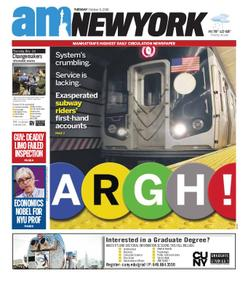 AM New York - October 09, 2018