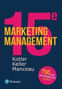 Marketing Management 15e édition