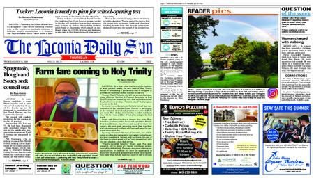 The Laconia Daily Sun – July 16, 2020