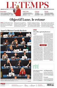 Le Temps - 03 juillet 2019