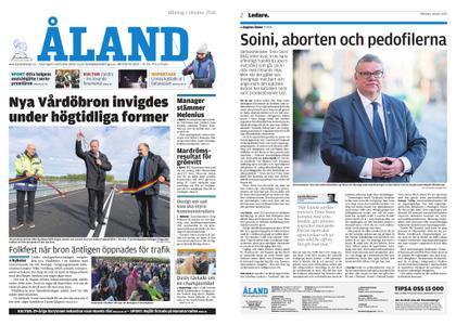 Ålandstidningen – 01 oktober 2018