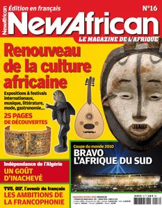 New African, le magazine de l'Afrique - Septembre - Octobre 2010