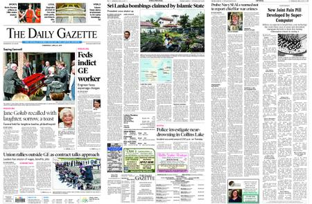 The Daily Gazette – April 24, 2019