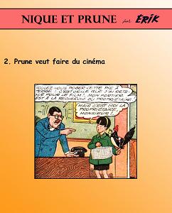 Nique et Prune - Tome 2 - Prune Veut Faire du Cinema