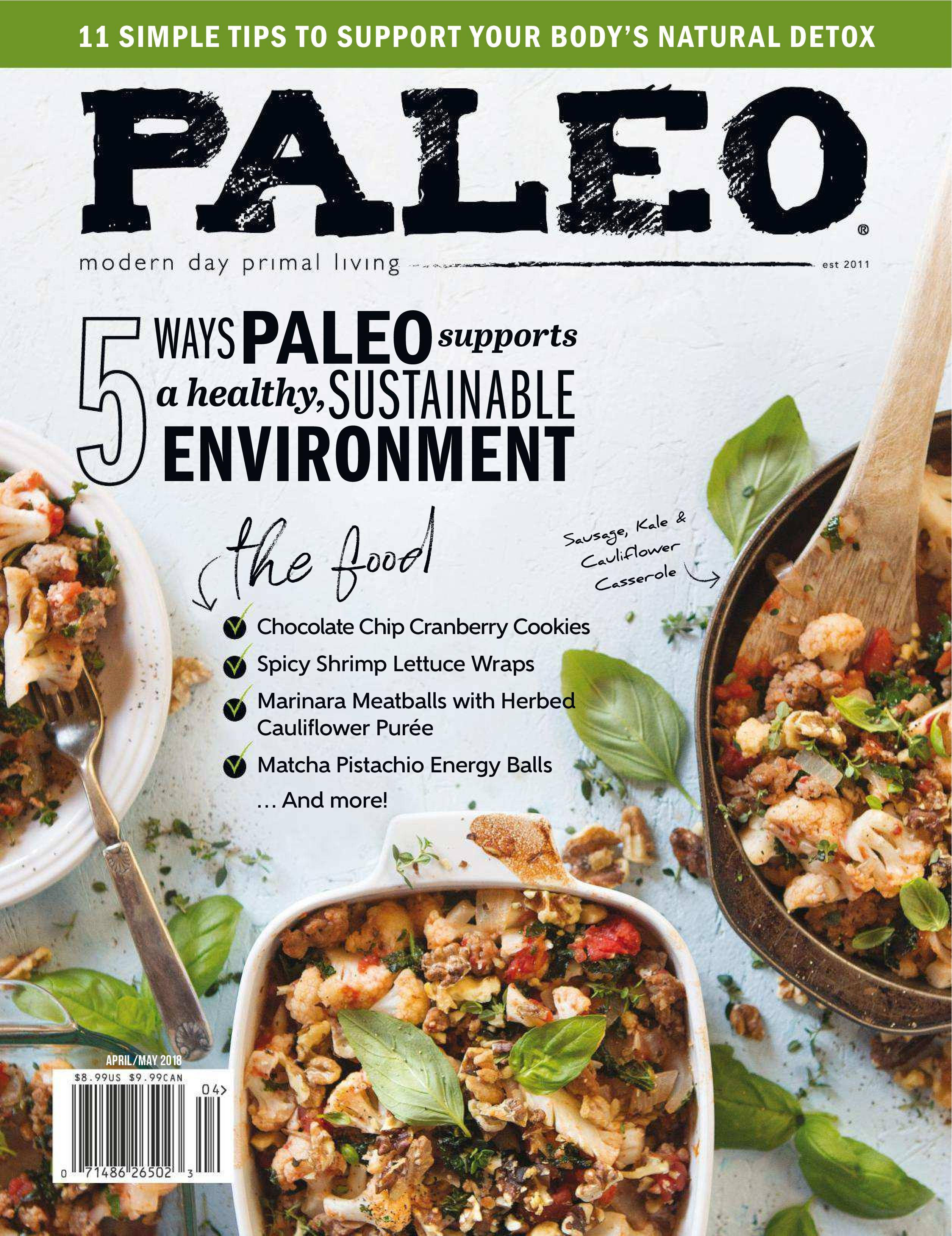 Paleo Magazine - April/May 2018