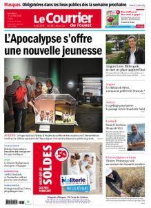 Le Courrier de l'Ouest Angers – 17 juillet 2020