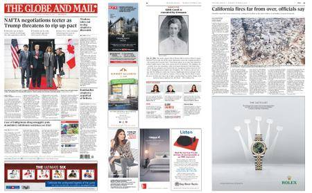 The Globe and Mail – October 12, 2017