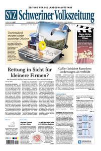 Schweriner Volkszeitung Zeitung für die Landeshauptstadt - 25. Mai 2020